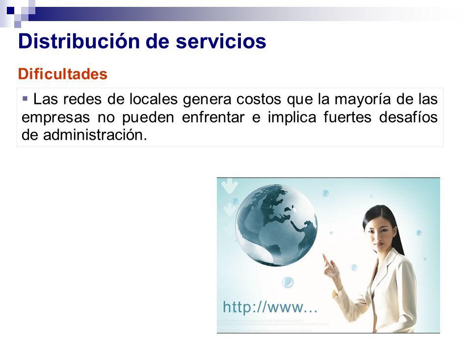 Distribución de servicios