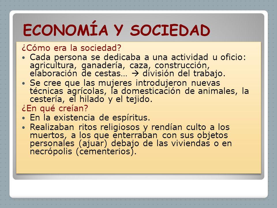 ECONOMÍA Y SOCIEDAD ¿Cómo era la sociedad