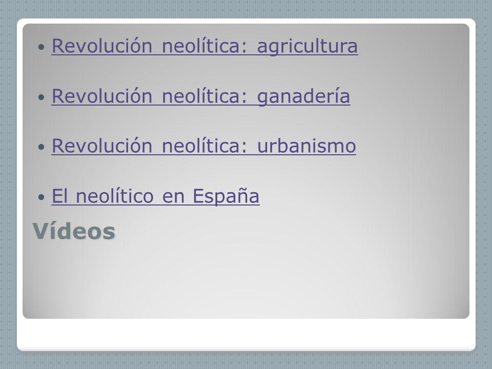 Vídeos Revolución neolítica: agricultura