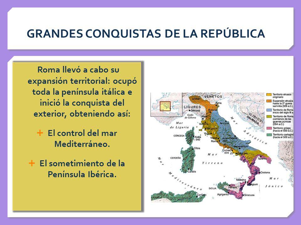 GRANDES CONQUISTAS DE LA REPÚBLICA