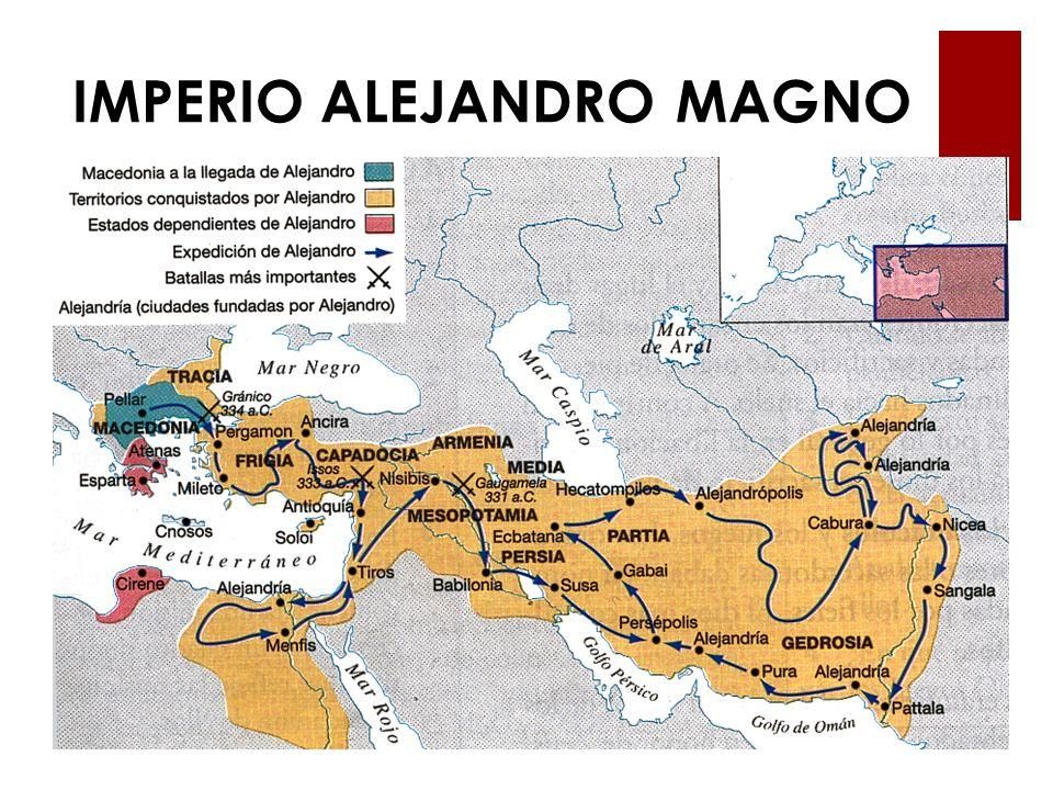 IMPERIO ALEJANDRO MAGNO