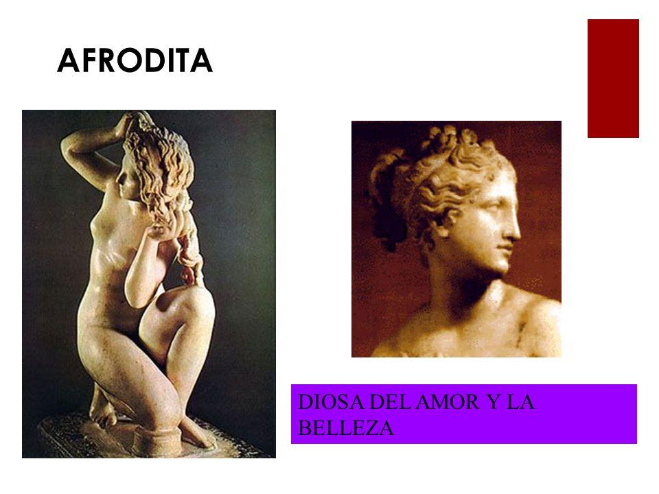 AFRODITA DIOSA DEL AMOR Y LA BELLEZA