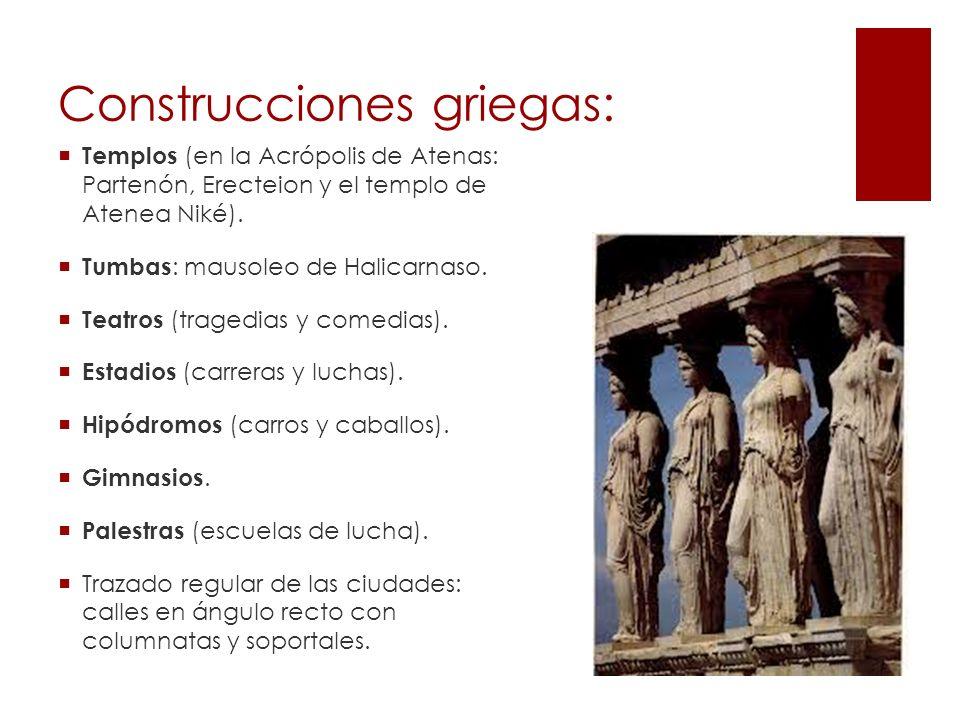 Construcciones griegas: