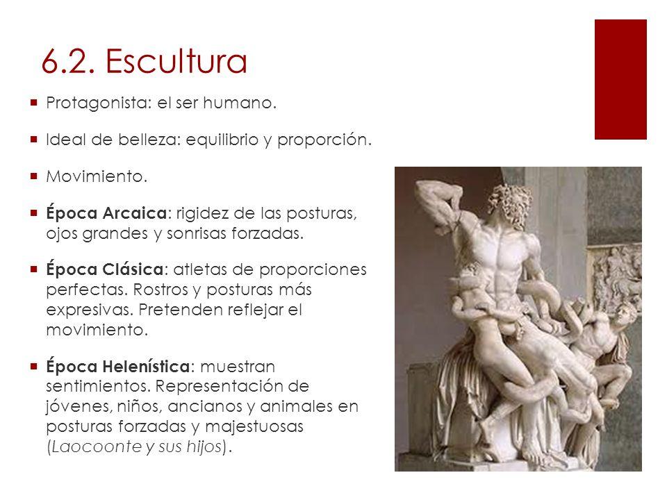 6.2. Escultura Protagonista: el ser humano.