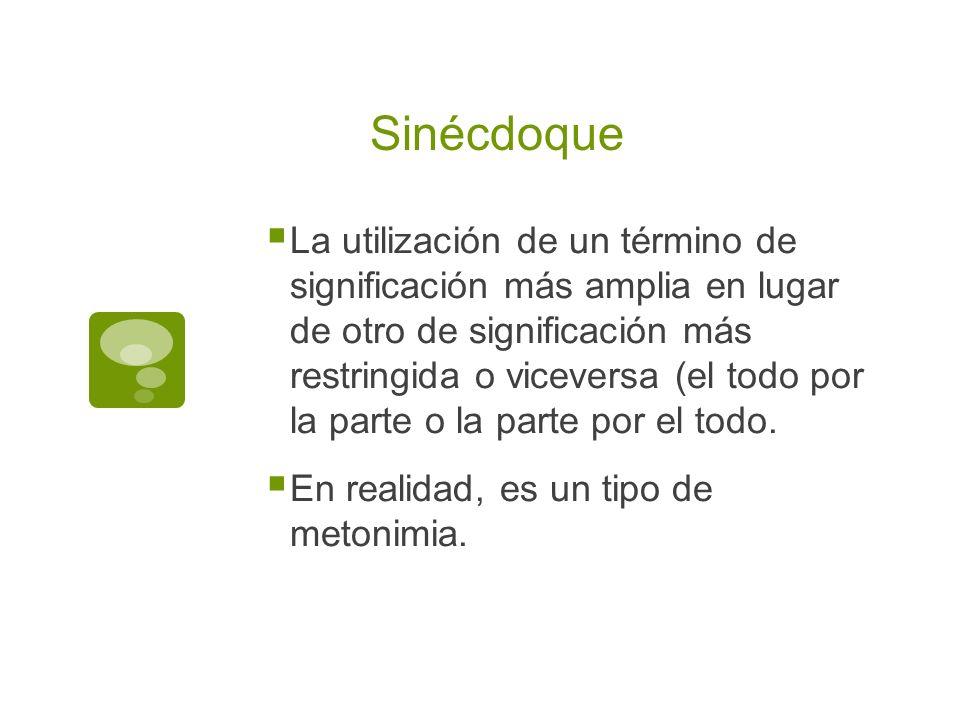 Sinécdoque