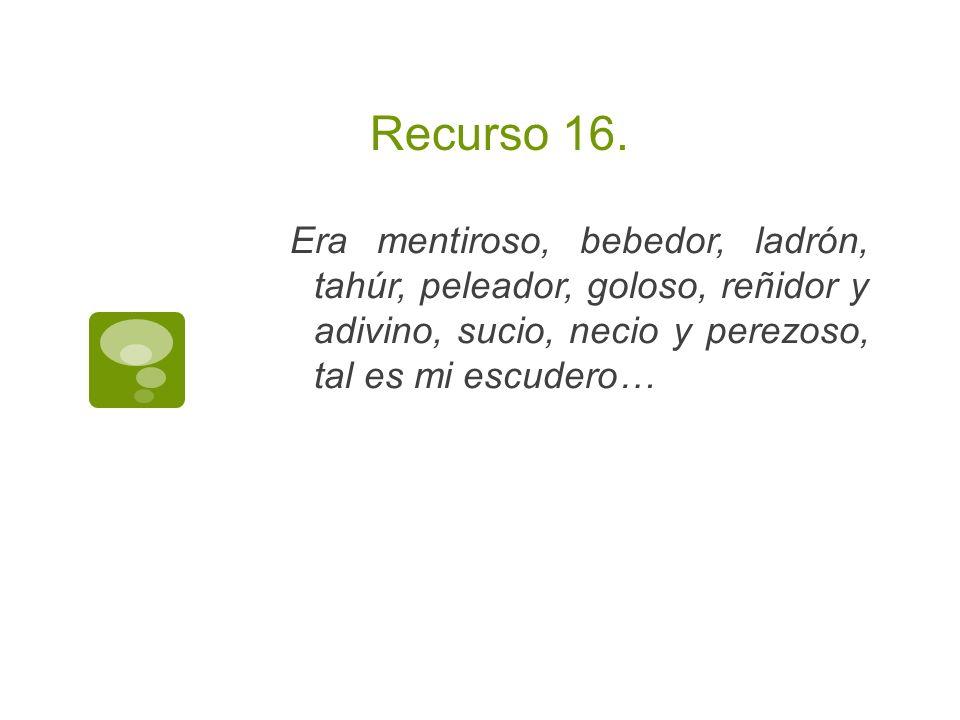 Recurso 16.