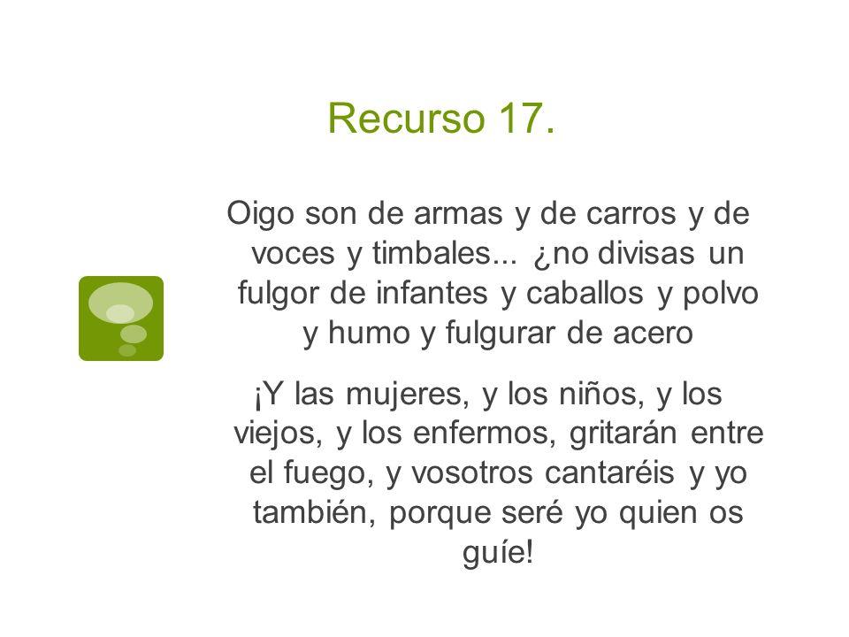 Recurso 17.