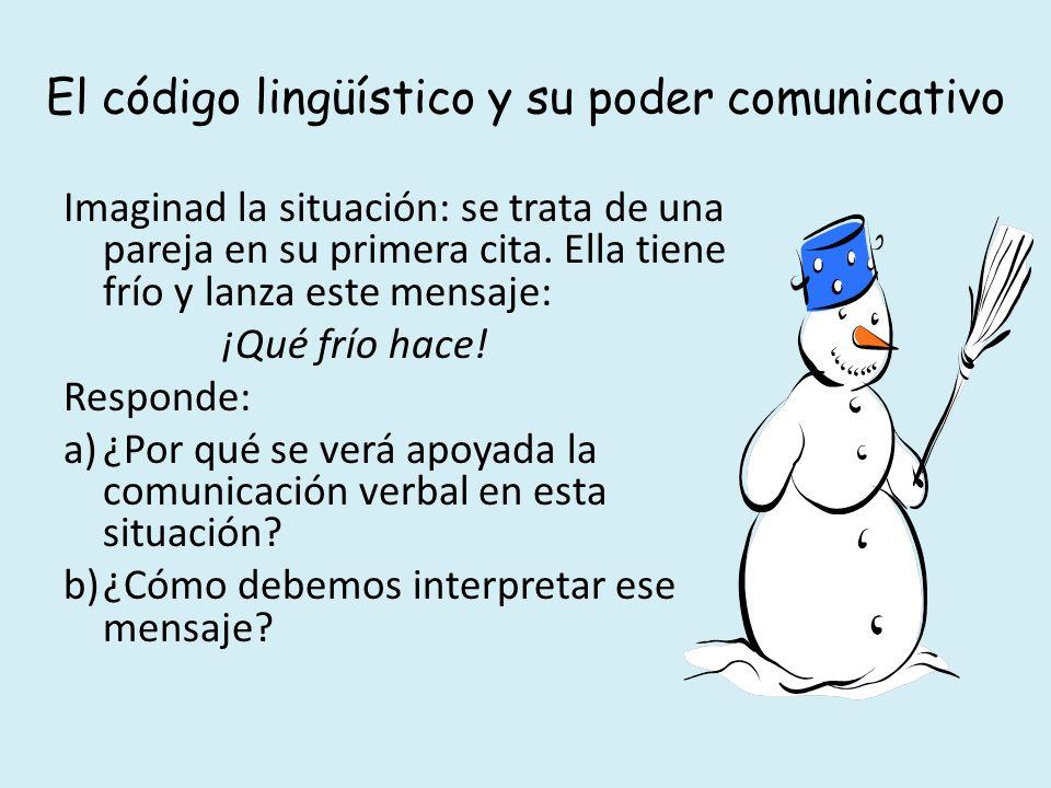 El código lingüístico y su poder comunicativo