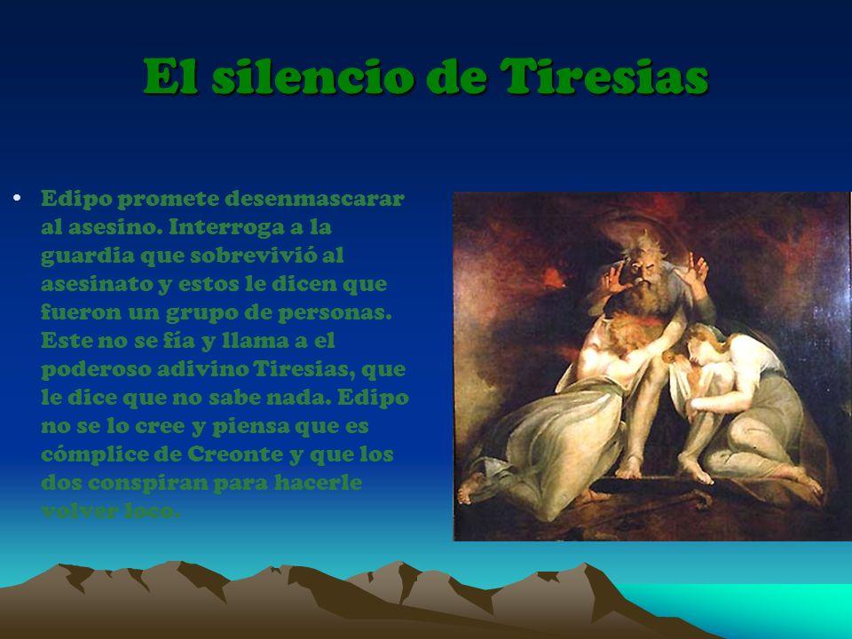 El silencio de Tiresias
