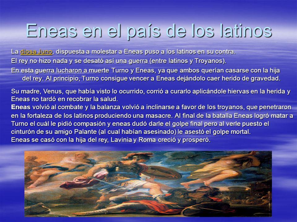 Eneas en el país de los latinos