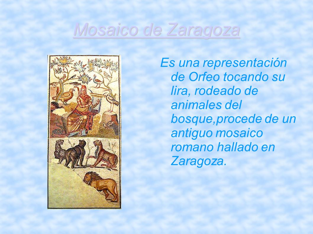 Mosaico de Zaragoza