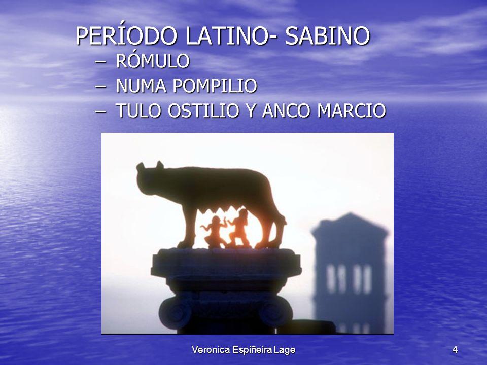 PERÍODO LATINO- SABINO