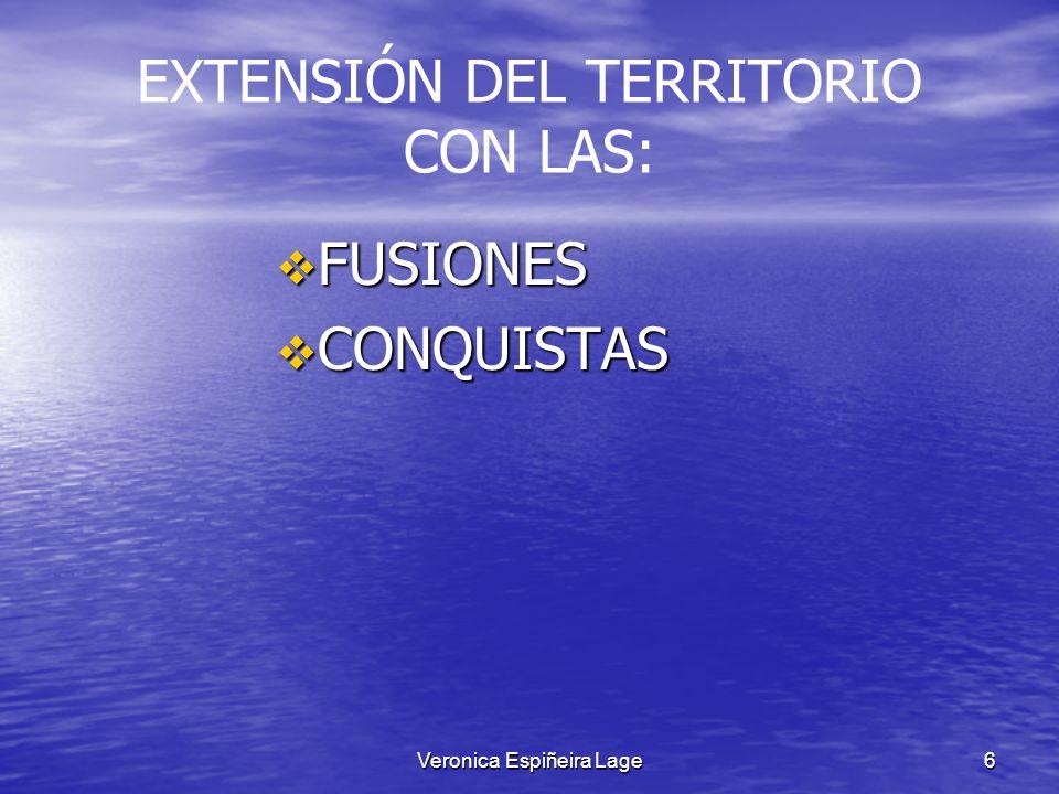 EXTENSIÓN DEL TERRITORIO CON LAS: