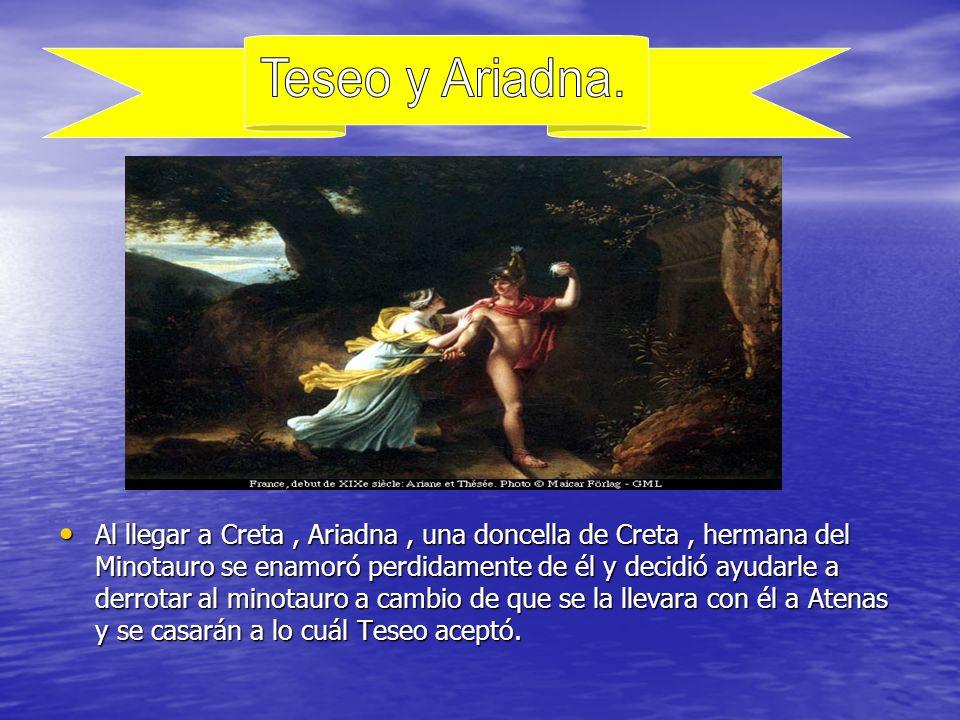 Teseo y Ariadna.