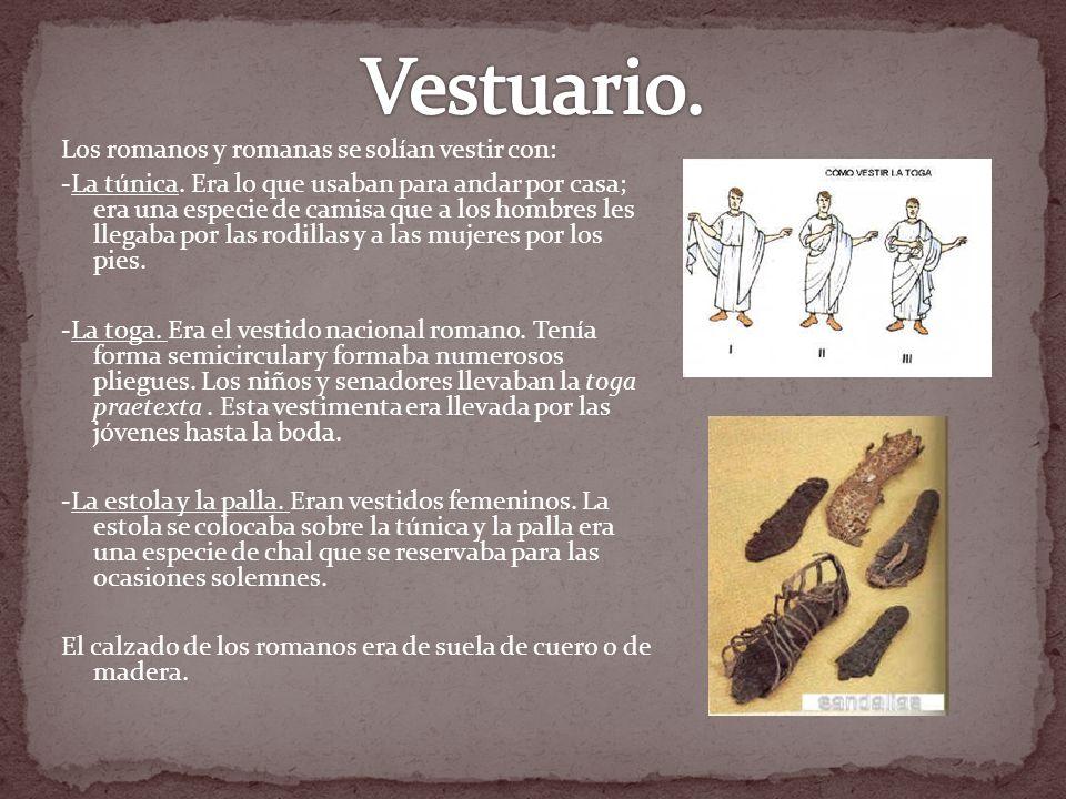 Vestuario.
