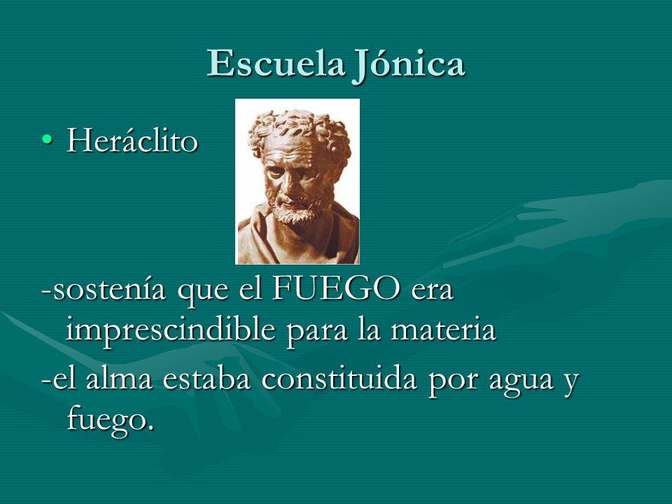 Escuela Jónica Heráclito