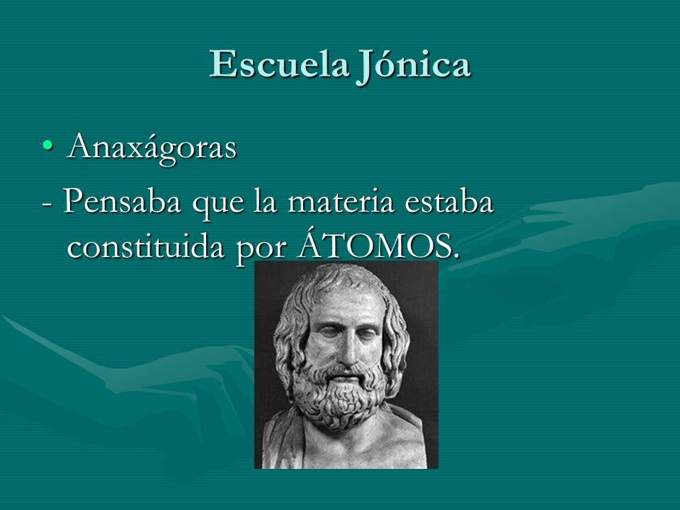 Escuela Jónica Anaxágoras