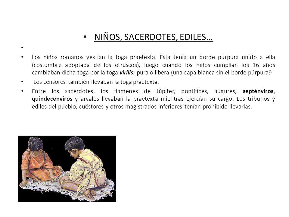 NIÑOS, SACERDOTES, EDILES…