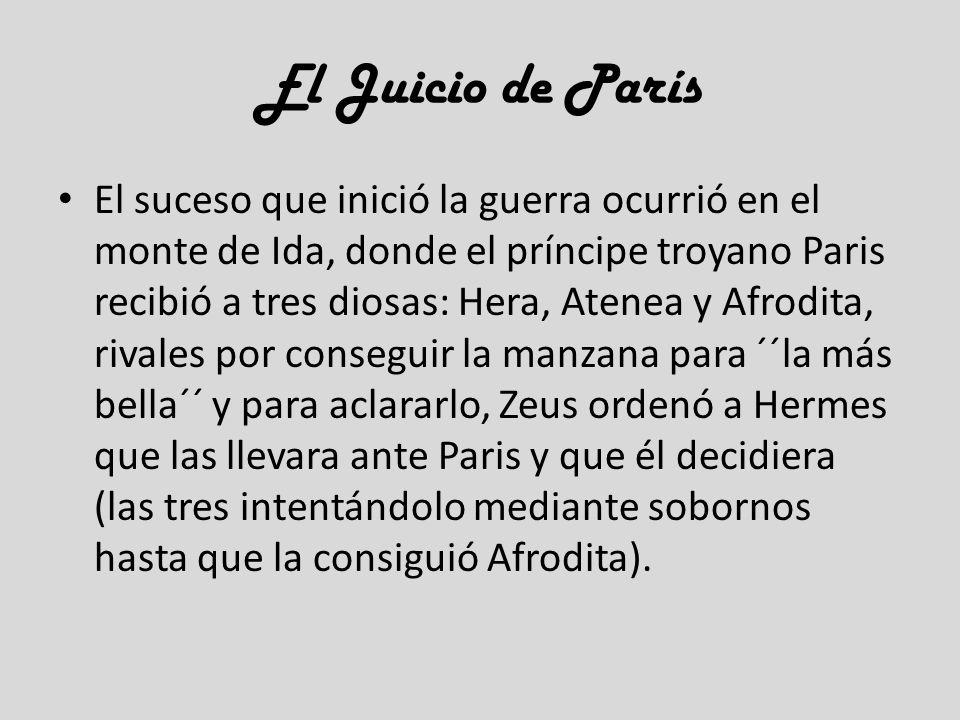 El Juicio de París