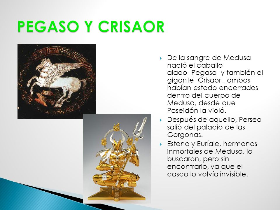 PEGASO Y CRISAOR