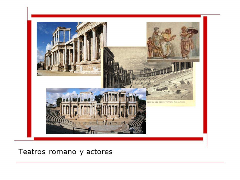 Teatros romano y actores