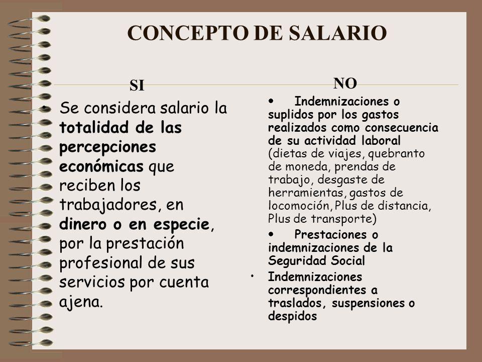 CONCEPTO DE SALARIO SI.