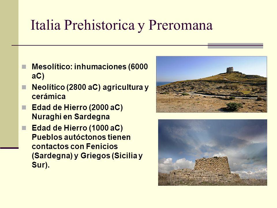 Italia Prehistorica y Preromana