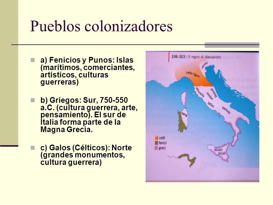 Pueblos colonizadores