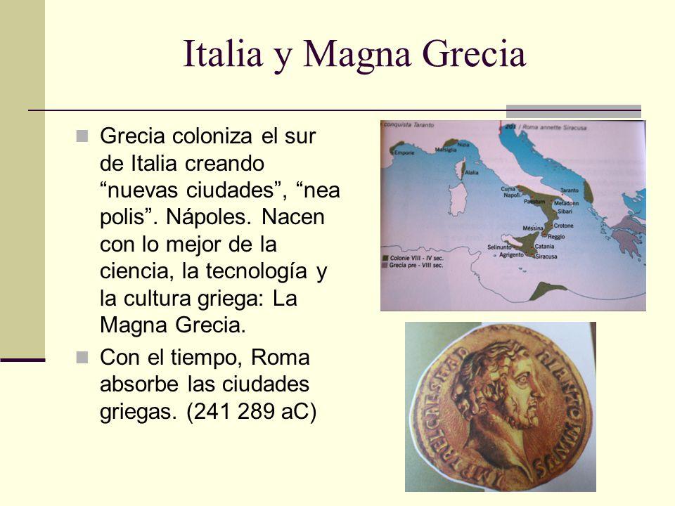 Italia y Magna Grecia