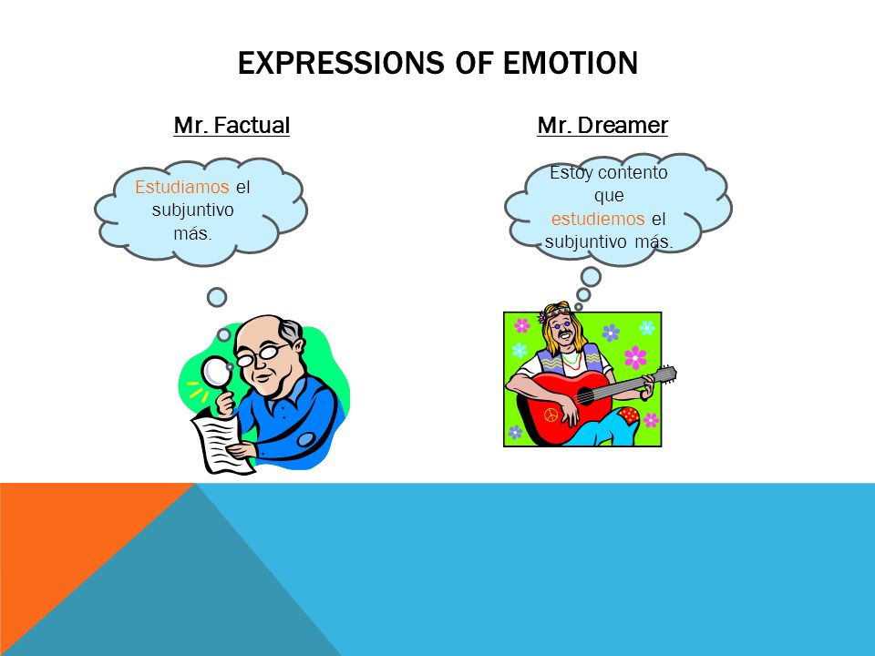 EXPRESSIONS OF EMOTION