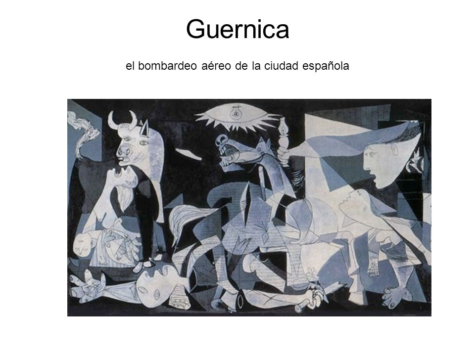 Guernica el bombardeo aéreo de la ciudad española