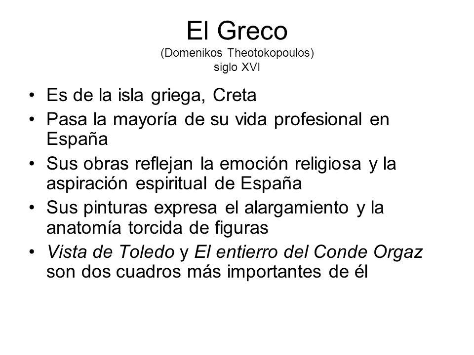 El Greco (Domenikos Theotokopoulos) siglo XVI