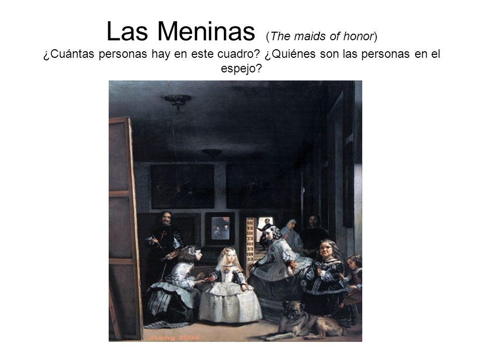 Las Meninas (The maids of honor) ¿Cuántas personas hay en este cuadro