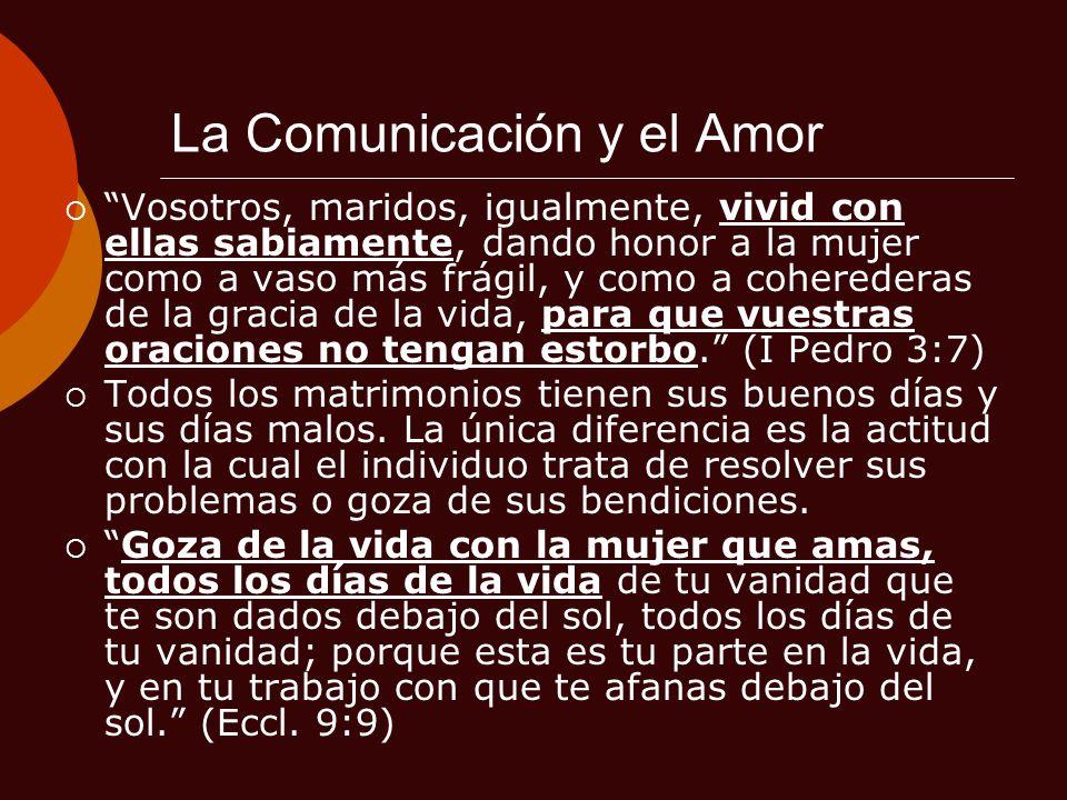 La Comunicación y el Amor