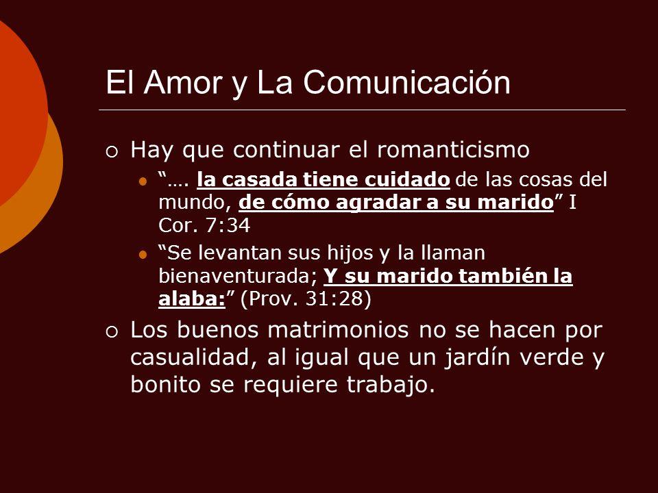 El Amor y La Comunicación