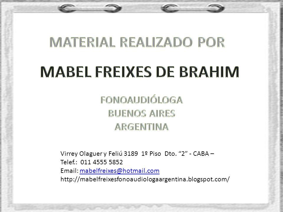 MATERIAL REALIZADO POR MABEL FREIXES DE BRAHIM