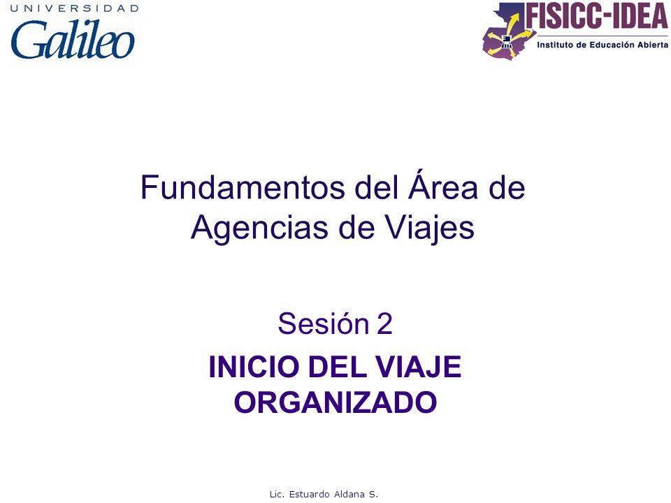 Fundamentos del Área de Agencias de Viajes