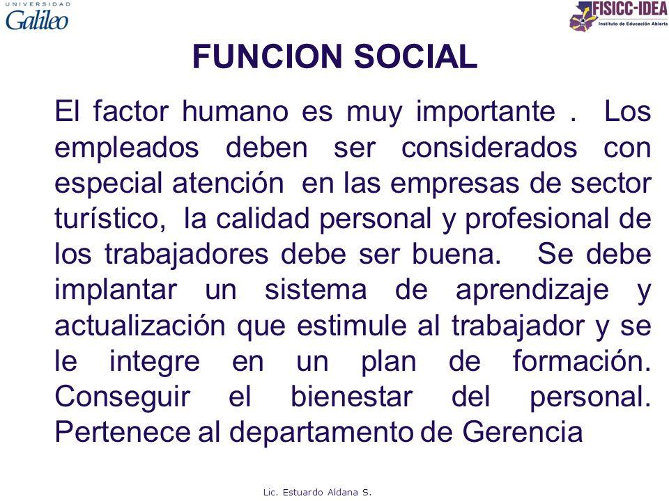 FUNCION SOCIAL