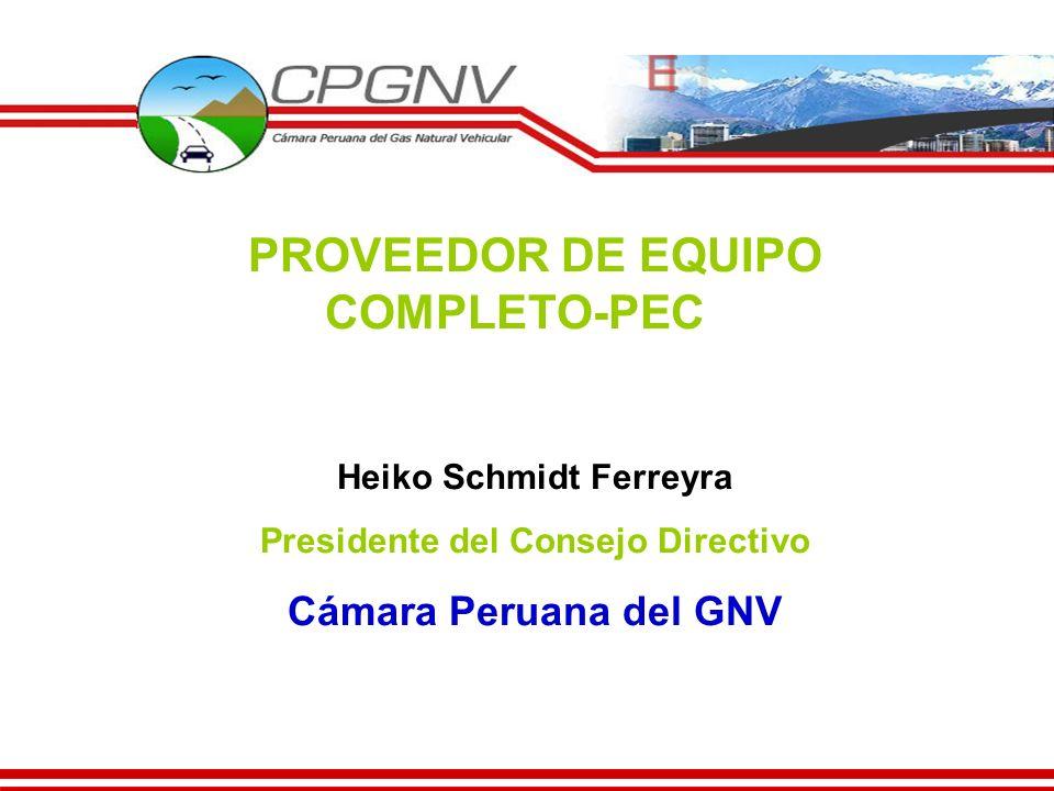 PROVEEDOR DE EQUIPO COMPLETO-PEC