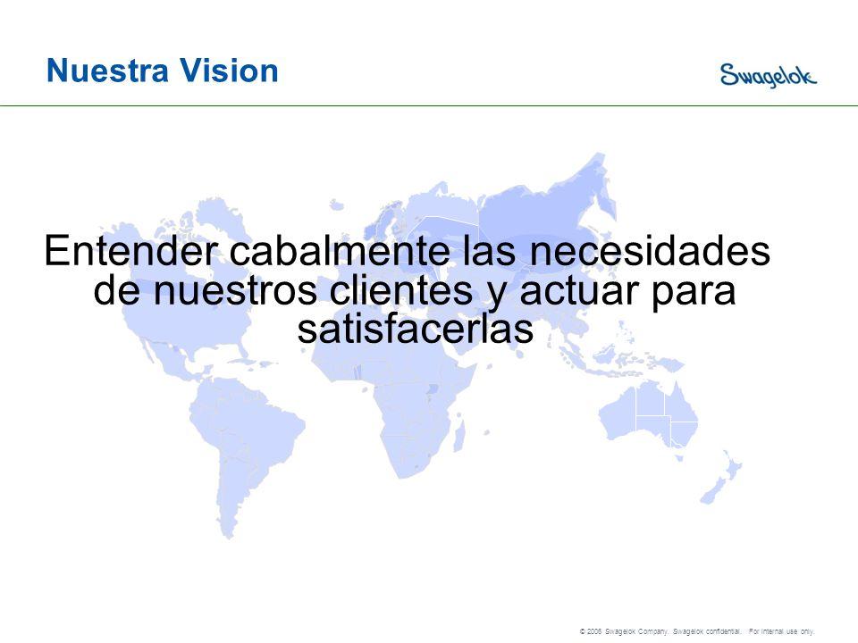 Nuestra Vision Entender cabalmente las necesidades de nuestros clientes y actuar para satisfacerlas.