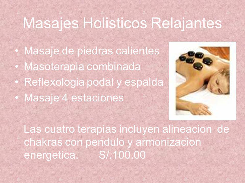 Masajes Holisticos Relajantes