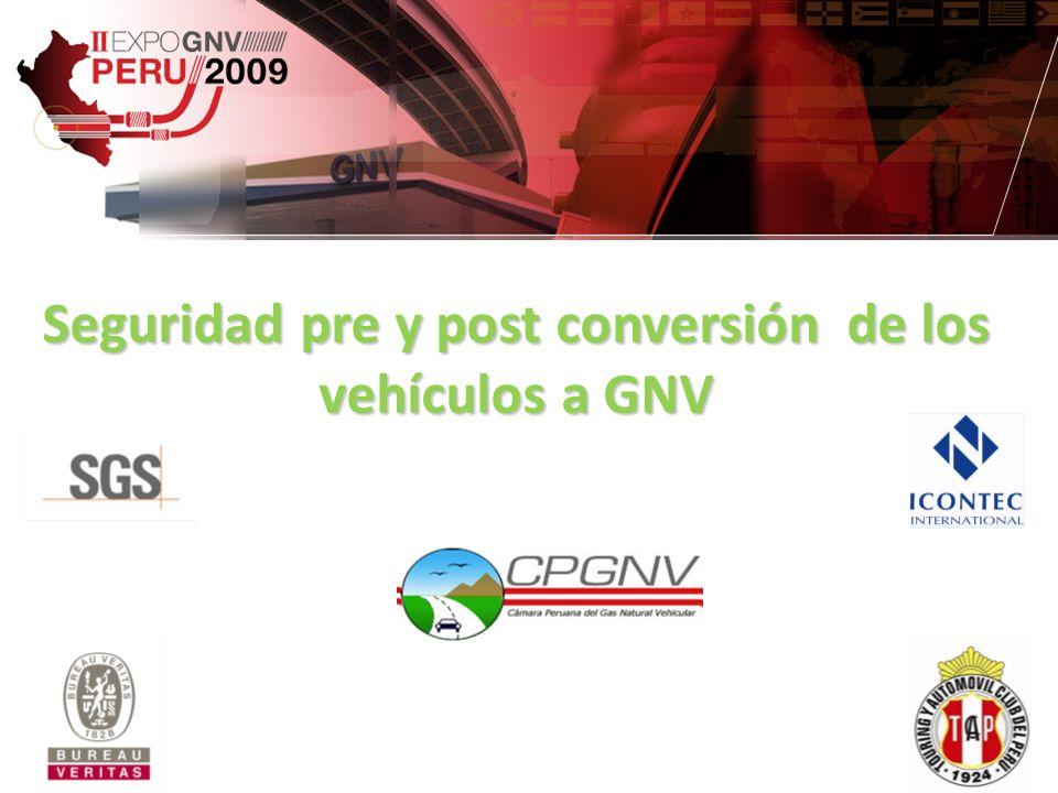 Seguridad pre y post conversión de los vehículos a GNV