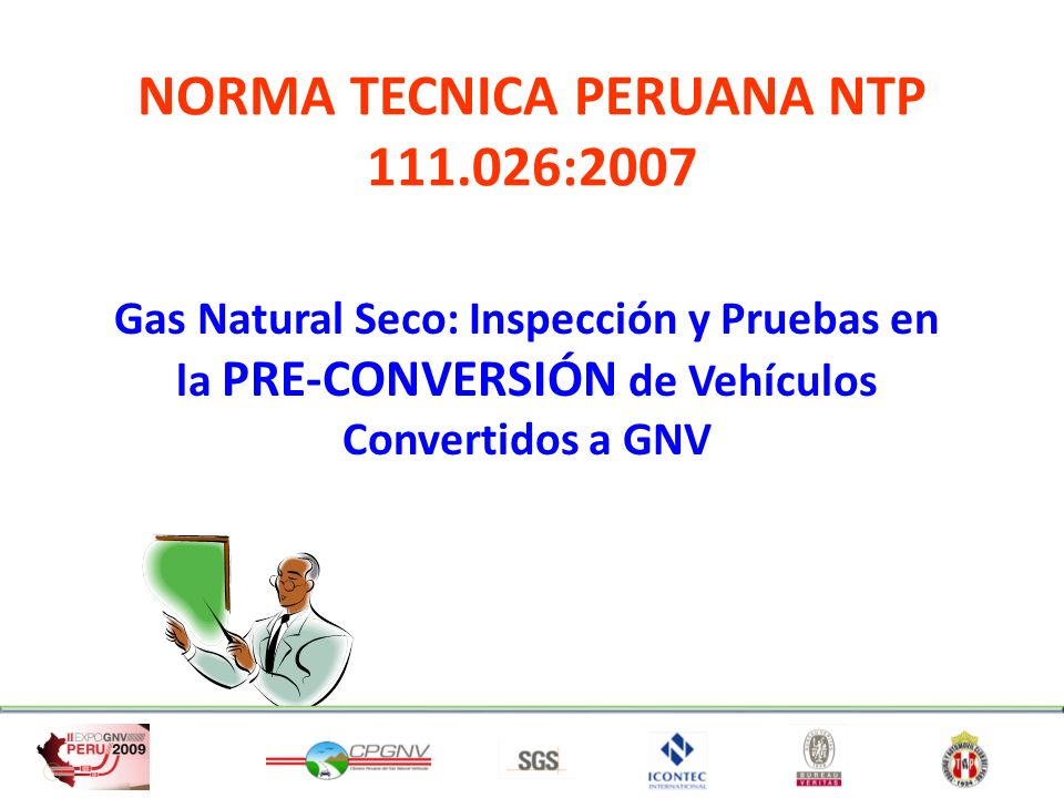 NORMA TECNICA PERUANA NTP 111.026:2007