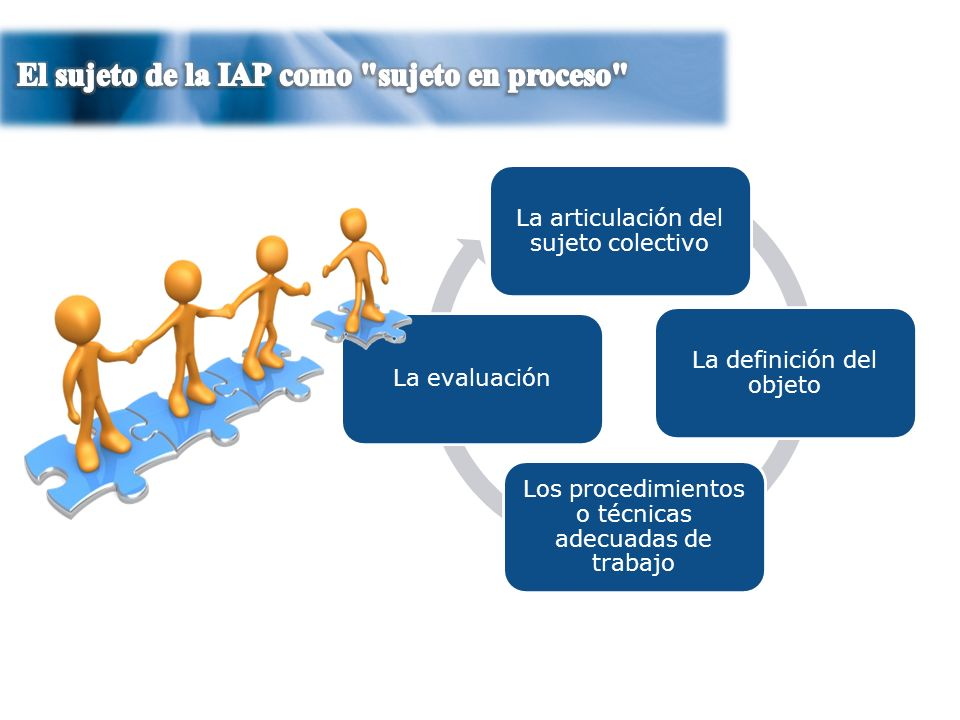 El sujeto de la IAP como sujeto en proceso