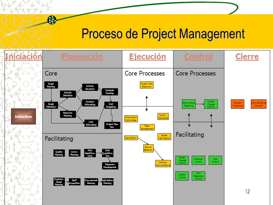 Proceso de Project Management