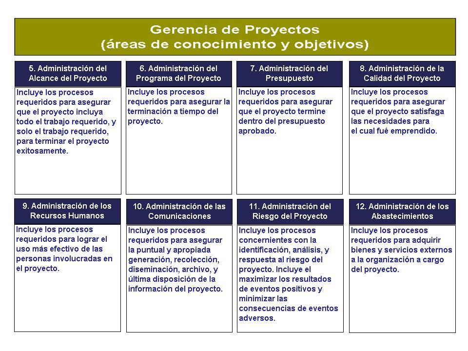 Certificación en Administración de Proyectos