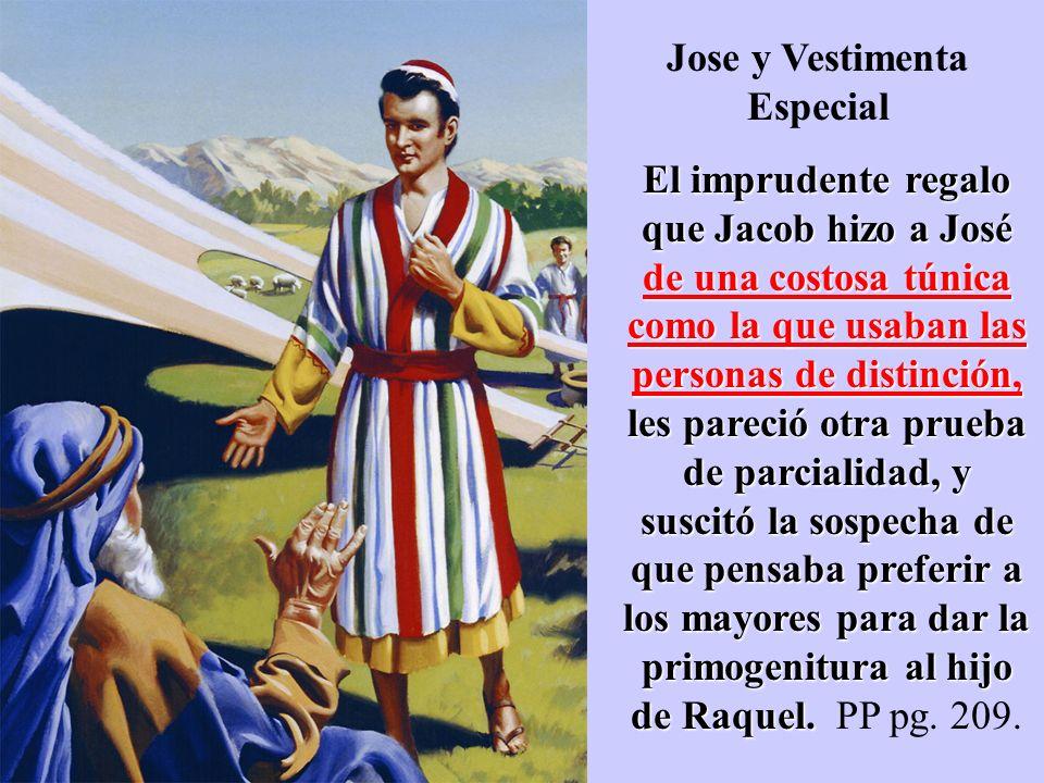 Jose y Vestimenta Especial