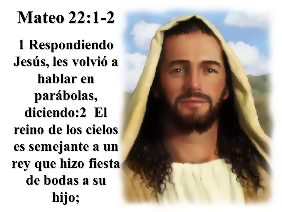 Mateo 22:1-2