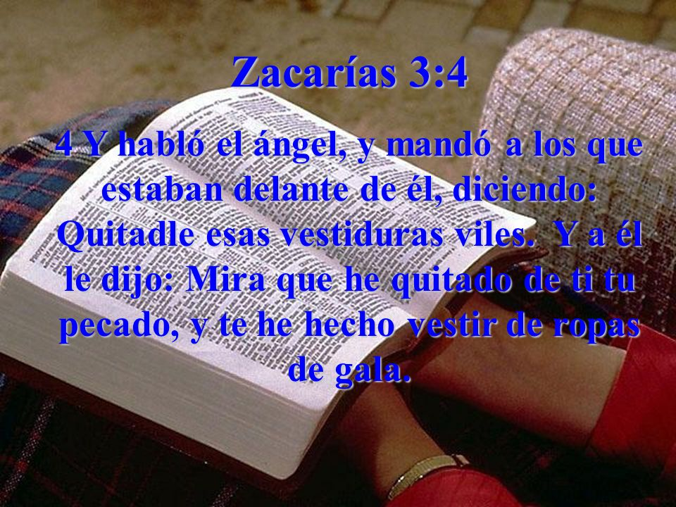 Zacarías 3:4