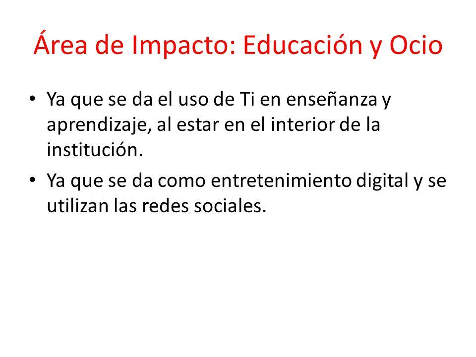 Área de Impacto: Educación y Ocio